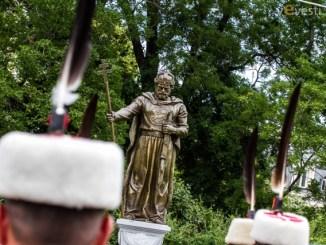 Откриване на паметника на цар Самуил снимка: Пламен Трифонов