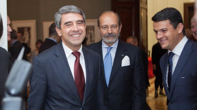 Президентът и Царят откриха изложба на Пикасо в София.фотограф: Пламен Трифонов