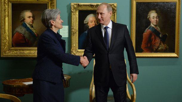 Бокова и Путин