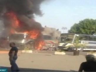 На 18 юли 2012 г. на летище Сарафово се взриви терорист камикадзе. Целта беше автобус с израелски туристи.