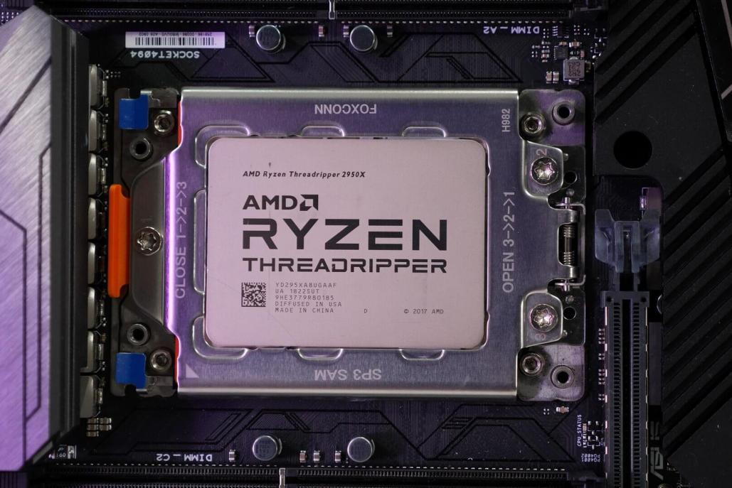 Review of the first records of overclocking AMD Ryzen Threadripper