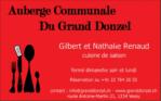 Auberge communale du Grand-Donzel sponsor de notre 4ème équipe