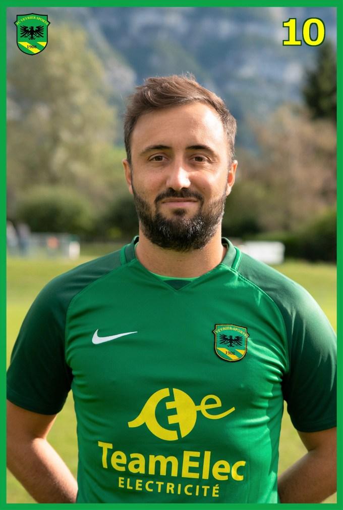 10.Yoann TADDEO