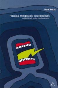 Paranoja naslovnica knjige