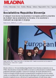 Socialistična republika Horvat Mladina