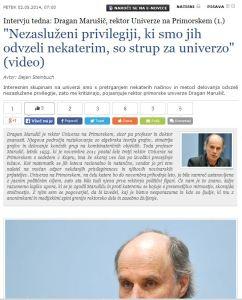 Marušič intervju SIOL