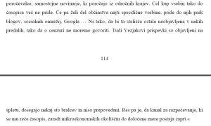 Žerdin cenzura Delo Vezjak