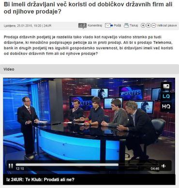TV Klub POP TV privatizacija