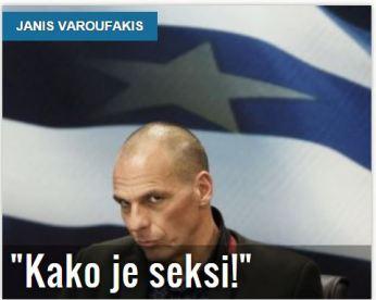 Žurnal Varufakis Kako je seksi