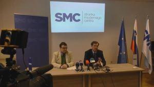 SMC stranka modernega centra tiskovka z napovedjo