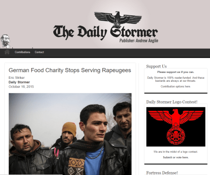 Daily Stormer zgodba