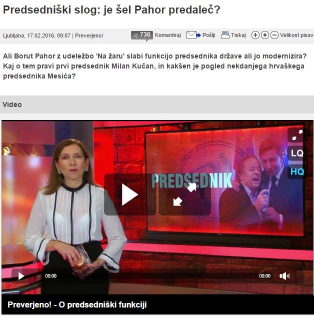 Pahor 24ur modernizira žar