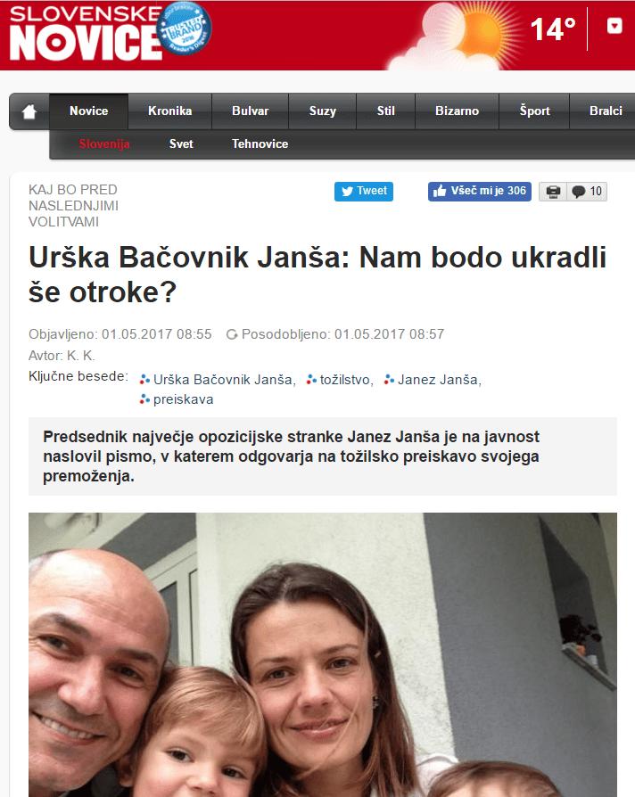 SN Janša premoženje