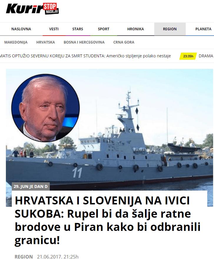 Rupel Kurir vojna