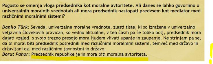 Pahor moralna avtoriteta intervju