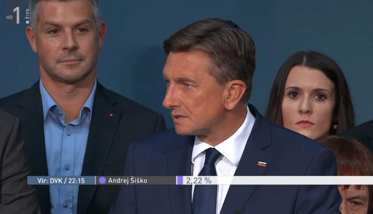 Pahor volitve rtv