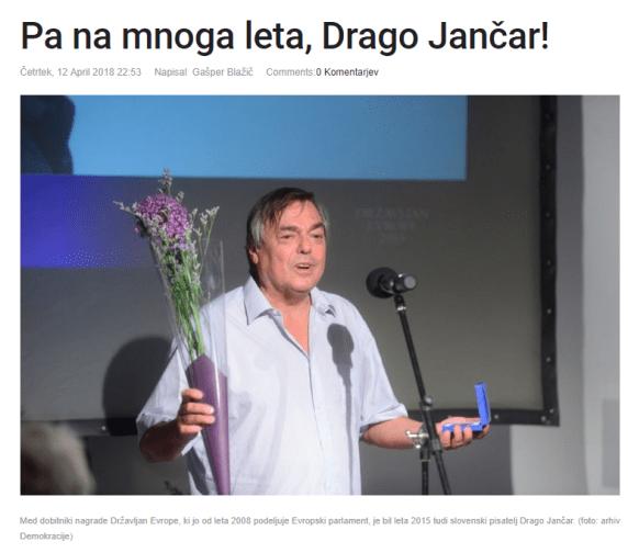 Blažič Jančar Demokracija na mnoga leta
