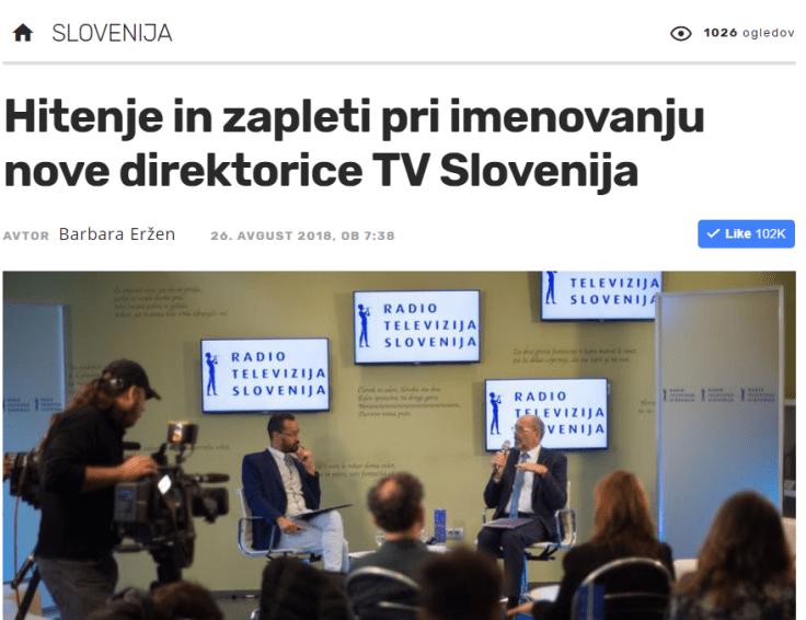 RTV direktorica seja Žurnal