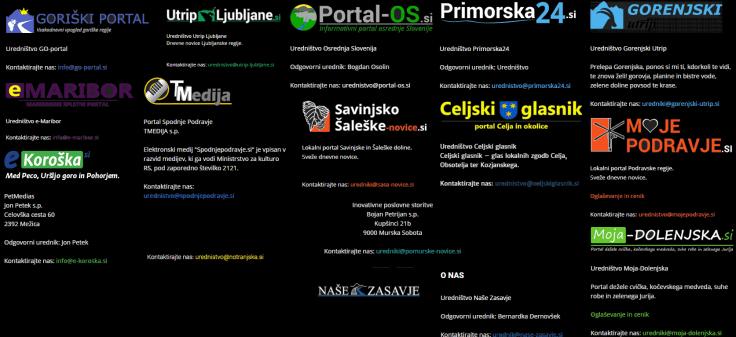 janševi spletni portali zbirka