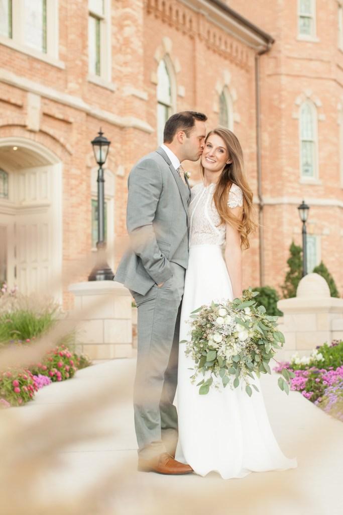 Provo City Center Temple Wedding Portraits