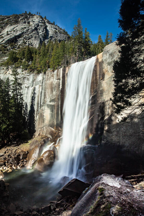 Vernal Falls on the Mist Trail at Yosemite National Park #vezzaniphotography