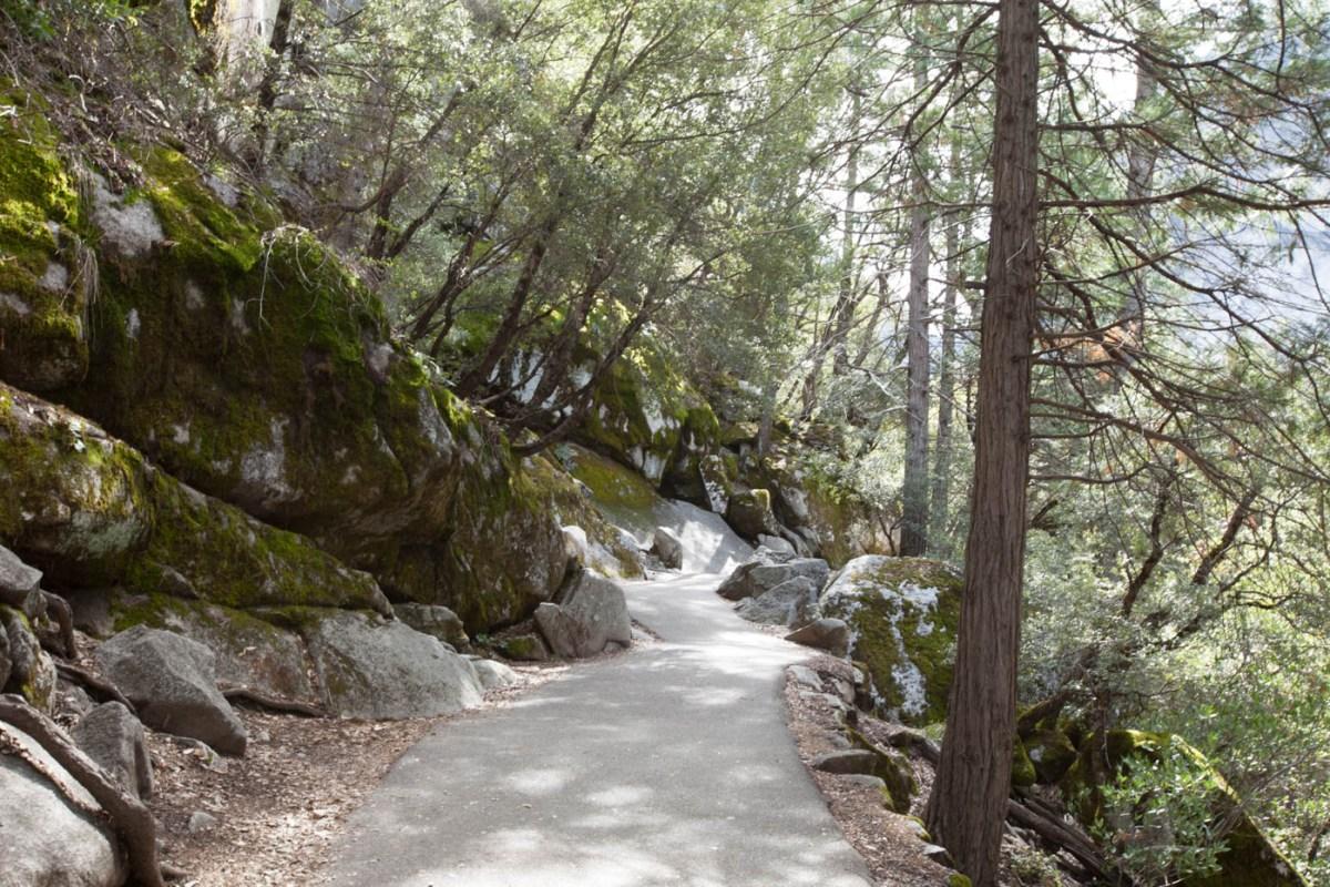 Mist Trail at Yosemite National Park #vezzaniphotography