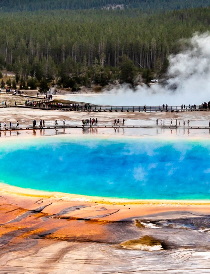 How to Find the Grand Prismatic Spring Overlook in Yellowstone