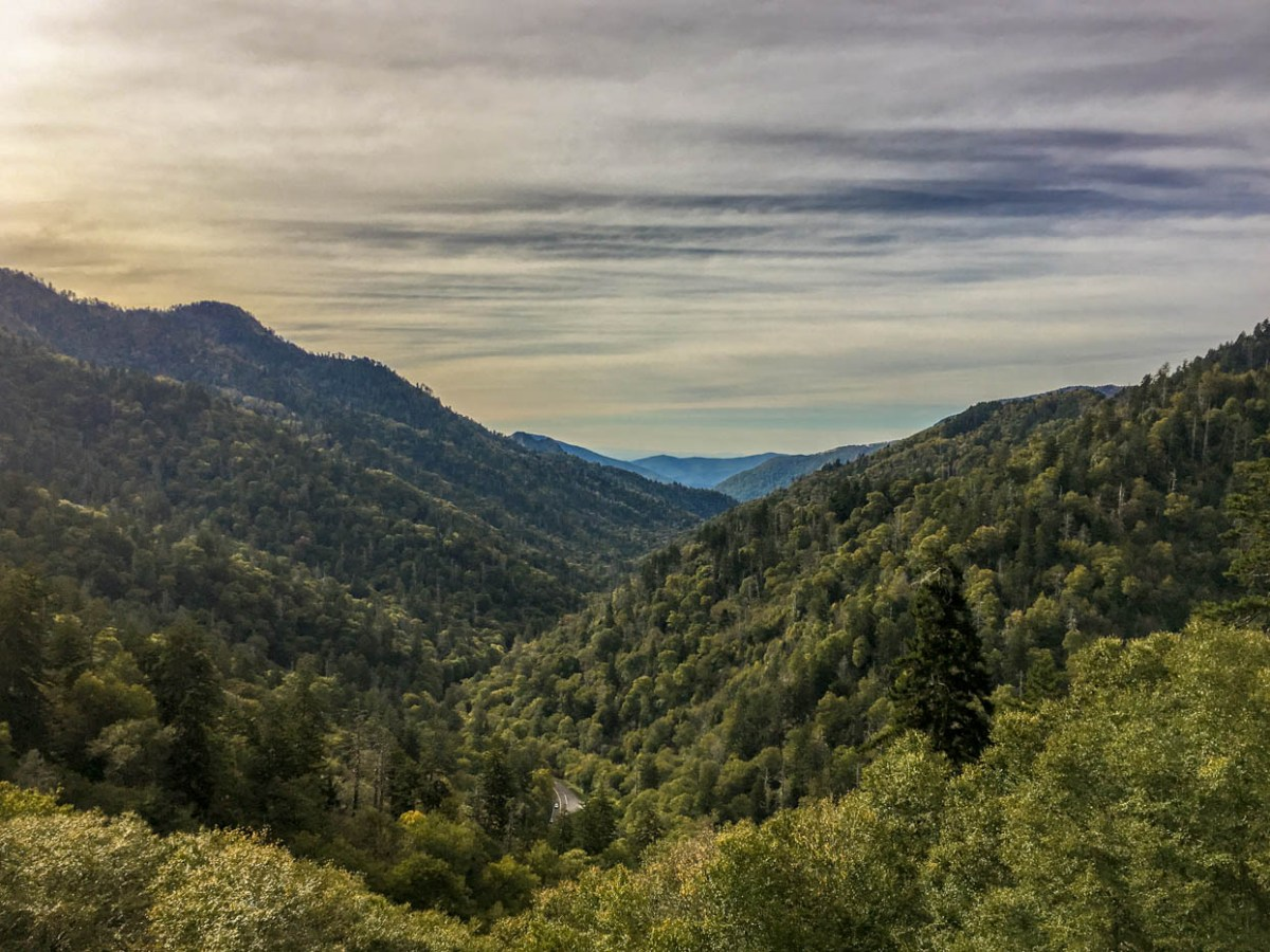 Mortons Gap - Must See Locations Along Newfound Gap Road at Great Smoky Mountains National Park #vezzaniphotography