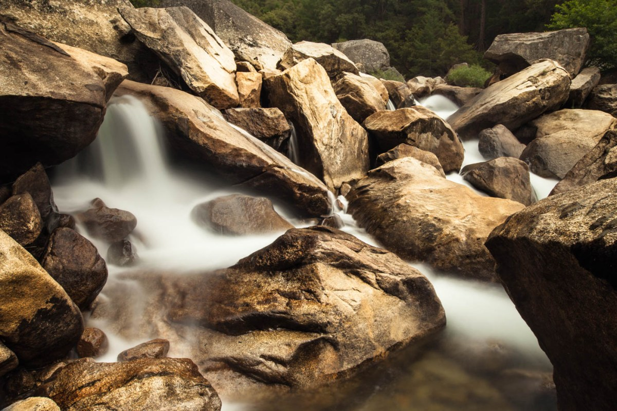 Merced River, Yosemite National Park - How to Photograph Silky Waterfalls Best Photo Spots Yosemite National Park #vezzaniphotography
