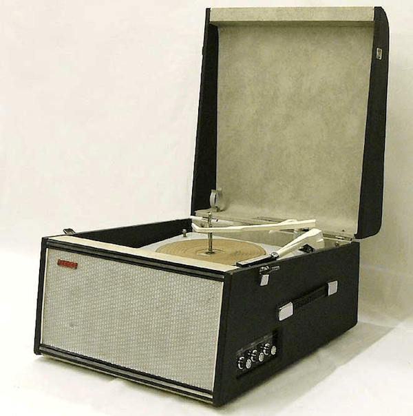 Hacker Record Player
