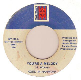 youre a melody original