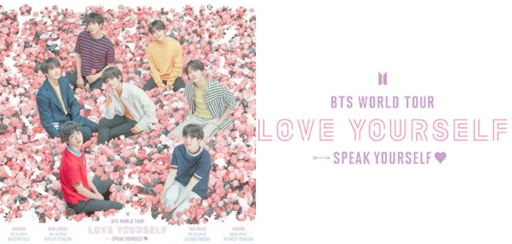 BTS sells all tour concert tickets in 5 big stadiums in just