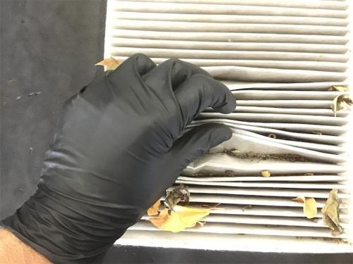 change the cabin air filter