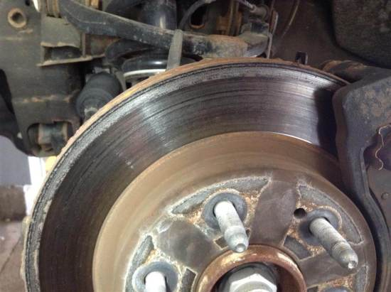 brakes serviced