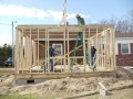 VFC Volunteers building a house during spring break 2012.