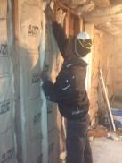 VFC Volunteer assisting with building renovation.