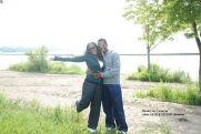 Vanessa & hubby enjoying nature together