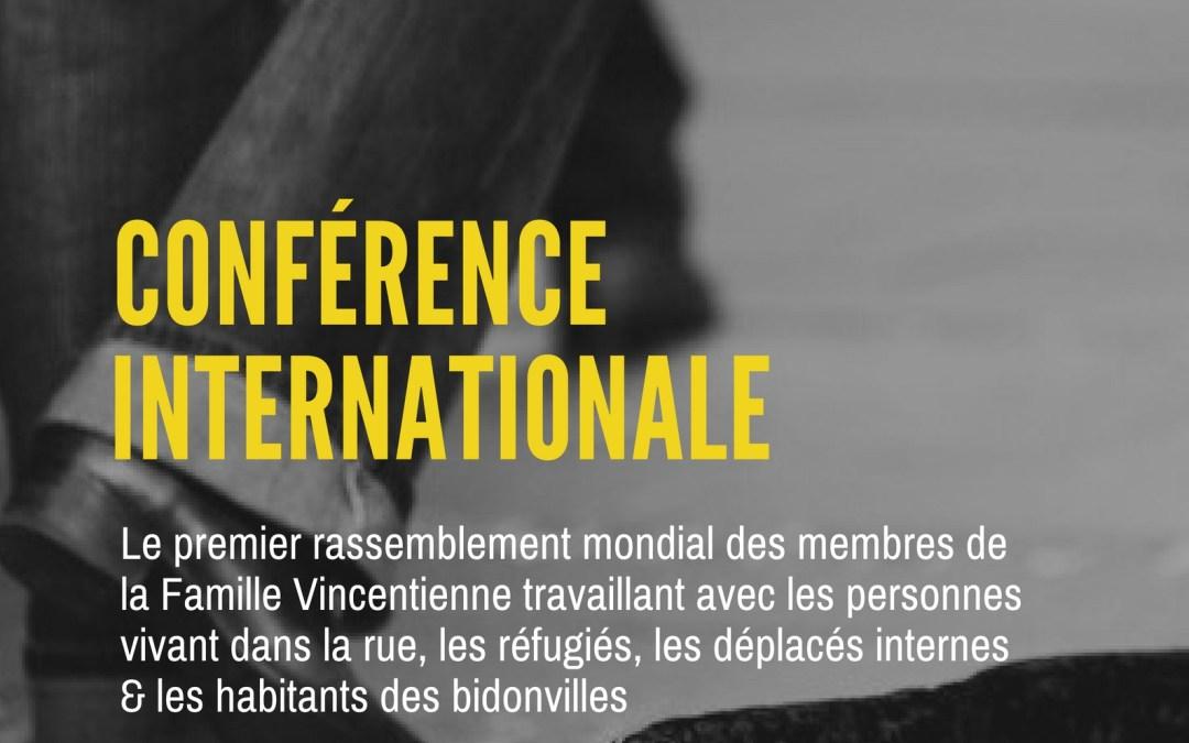 Conférence internationale de l'Alliance Famvin avec les personnes sans-abri (FHA)
