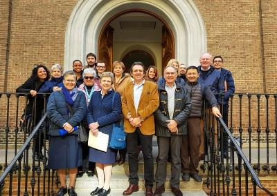 La FHA à la rencontre de la Famille Vincentienne d'Espagne