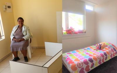 Uma casa na Namíbia, camas nos Países Baixos