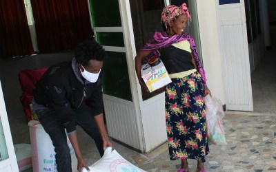 Les Filles de la Charité préviennent la faim chez les mères célibataires en Éthiopie pendant la COVID-19