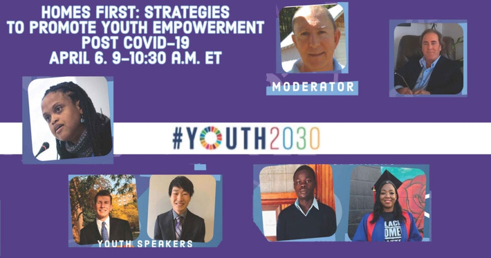 Homes First*: Stratégies pour promouvoir l'autonomisation des jeunes après Covid-19