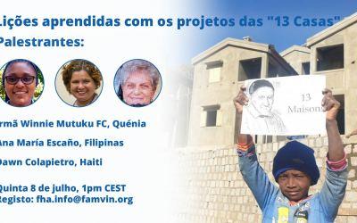 """Lições aprendidas com os projetos """"13 Casas"""": Conheça as palestrantes"""