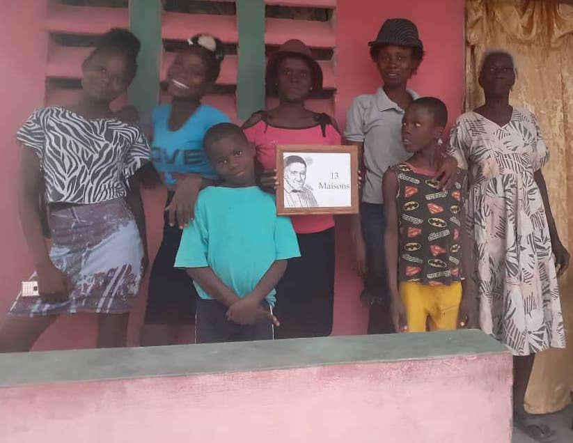 Un nouveau toit en Haïti avec les Sœurs de la Charité