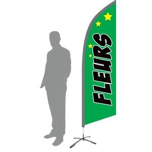 drapeau fleuriste