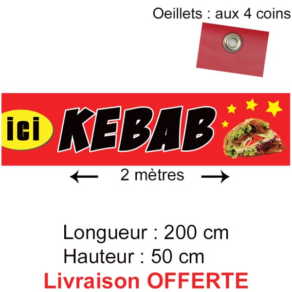 banderole kebab