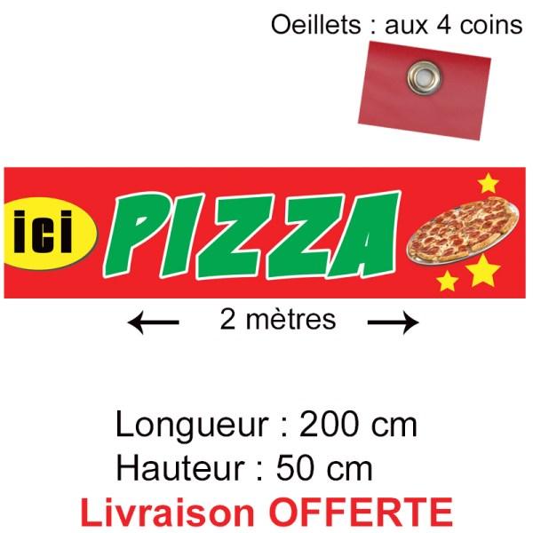 banderole pizza