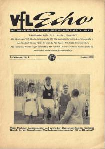 VfL-Echo August 1955 Cover