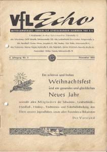 VfL-Echo Dezember 1955 Cover