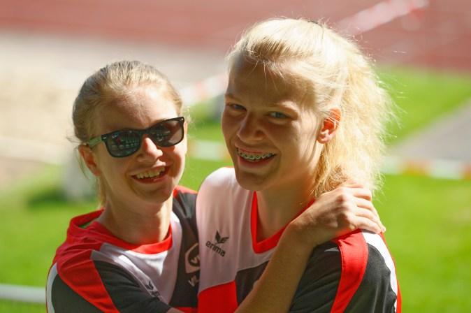 Christiane Berger und Lena Hoffmann